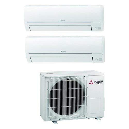 Climatizzatore Dual Split 9000 + 12000 Btu, Inverter, Classe A++ A+ Serie MSZ-HR