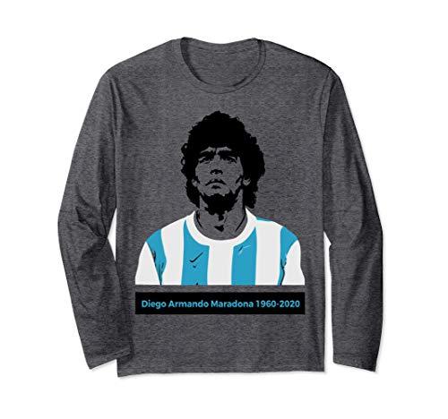 Diego Armando Maradona 1960-2020 Manga Larga