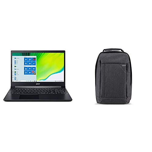 Acer Aspire 5 Slim Laptop, 15.6 inches Full HD IPS Display, AMD Ryzen 3 3200U, Vega 3 Graphics, 4GB DDR4, 128GB SSD & Acer Travel Laptop Backpack
