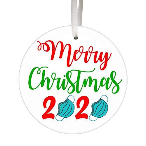 Mingbai-Christmas Decorations-Christmas Tree- Hanging Pendant Ornaments, Wooden Fall Thanksgiving Turkey, Creative Gifts, 2020 New Wedding Party Decor, Decor for Home(1/5/10/15/20/30/50PCS) (F)