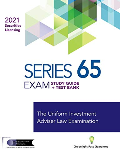 SERIES 65 EXAM STUDY GUIDE 2021 + TEST BANK