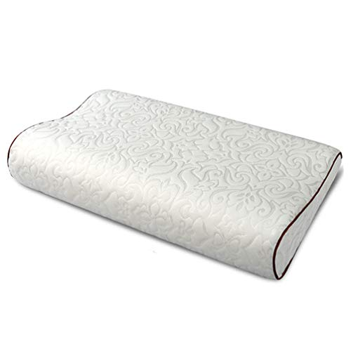 Lowest Prices! Premium Natural Latex Foam Pillow, Orthopedic Cervical Neck Pillow Great for Back And...