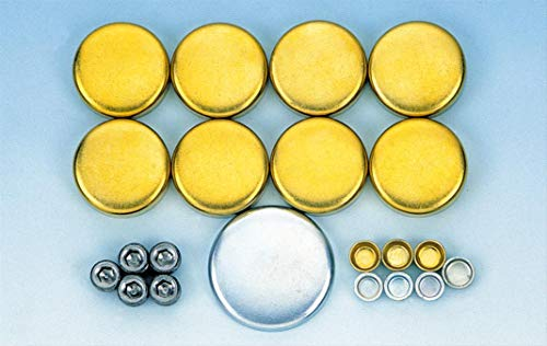 Milodon 34031 Brass Freeze Plug Kit for Small Block Chevy 283/350