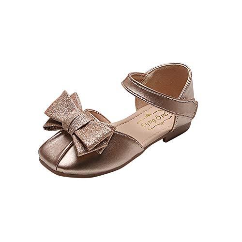 YWLINK Zapatos para NiñOs, NiñOs Flores Dulces Zapatos PequeñOs Zapatos De Princesa Zapatos Solos Zapatos Frescos Zapatos De ActuacióN EscéNica,Zapatos De Malla Transpirable,Zapatos Brillantes