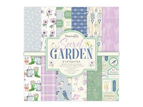 Dovecraft Secret Garden Papier Pack