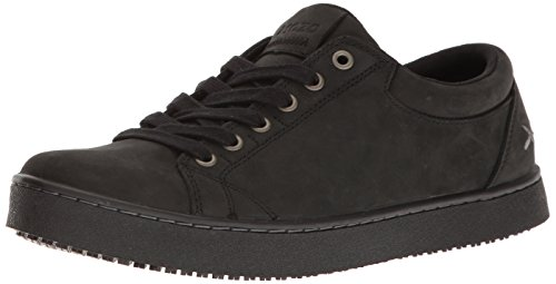 MOZO Men's Finn Slip Resistant Leather Sneaker