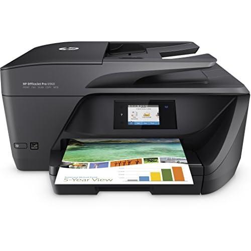 HP OfficeJet Pro J7K33A Stampante Multifunzione, Stampa/Copia/Scansione/Fax, Wireless, Nero