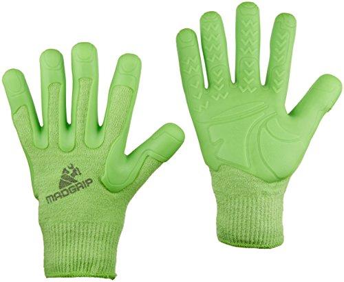 Mad Grip F100 Pro Palm Rasen- und Gartenhandschuhe, Größe XS, Grün