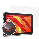 atFolix Schutzfolie kompatibel mit Blaupunkt Endeavour 1100 Folie, entspiegelnde & Flexible FX Bildschirmschutzfolie (2X)