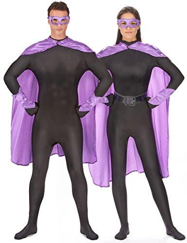 Generique - Kit Super héros Violet Adulte