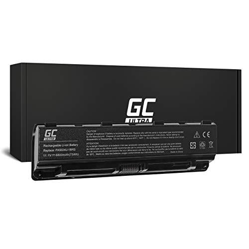 Green Cell ULTRA Battery for Toshiba Satellite Pro C850 C850-10N C850-10R C850-114 C850-116 C850-13L C850-146 C850-147 C850-158 C850-160 C850-16T C850-173 Laptop (6800mAh 11.1V Black)