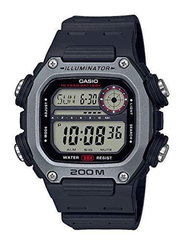 Casio Reloj para Hombre de Cuarzo con Correa en plástico DW-291H-1AVEF