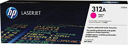 HP 312A CF383A Cartuccia Toner Originale, da 2.700 Pagine, per Stampanti HP LaserJet Serie Pro MFP M476, Magenta