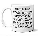Es war einmal in Amerika Geschenk Mug.Parody Movie Lover