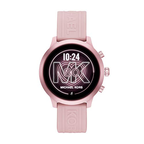 Michael Kors Access MKT5070 Smartwatch Michael Kors Dama, Correa Silicon Color Rosa, Caja Color Rosa, Multifuncion for Accesorios, Rosa, Mujer Estándar