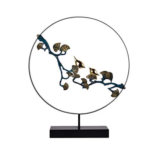 YYhkeby Oranment Elster Niederlassung Chinese Zen Orient Skulptur Wohnzimmer Schlafzimmer Veranda Hotel Bar Dekoration Jialele