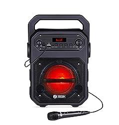 Zoook Rocker Thunder 20 watts Bluetooth Speaker with Karaoke Mic/TF/FM/LED/USB/Party Speaker,Zoook,ZK-ZB-RK-Thunder,Zoook Rocker bluetooth speaker,Zoook Rocker speaker,Zoook bluetooth speaker,Zoook speaker,Zoook speaker Wired,bluetooth speakers,speaker Zoook ZK-ZB-RK-Thunder,speaker bluetooth,usb speaker