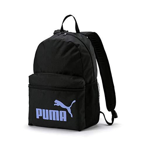PUMA Puma Phase Backpack Rucksack Unisex - Erwachsene, Unisex, Rucksack, 75487, Nero (Puma Black/Sweet Lavender), Einheitsgröße