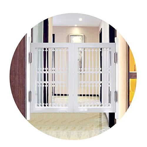 LIANGLIANG Schwingtüren Cafe Türe, Weiße Mediterrane Amerikanische Landhausstil Freie Cowboy Bar Zaun Pastoral Tür, Angepasst (Color : White, Size : 70x80cm)