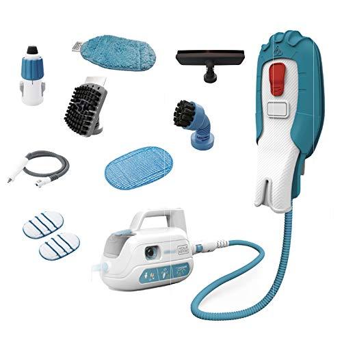 Limpiador De Guantes De Vapor De Mano A Alta Temperatura, con 8 Accesorios, Productos De Limpieza, Adecuado para Cocina, Baño Y Campana Extractora