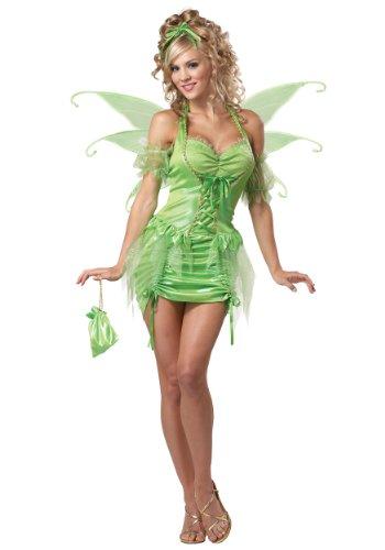 Women s Plus Size Tinkerbell Fairy Costume 2X Green
