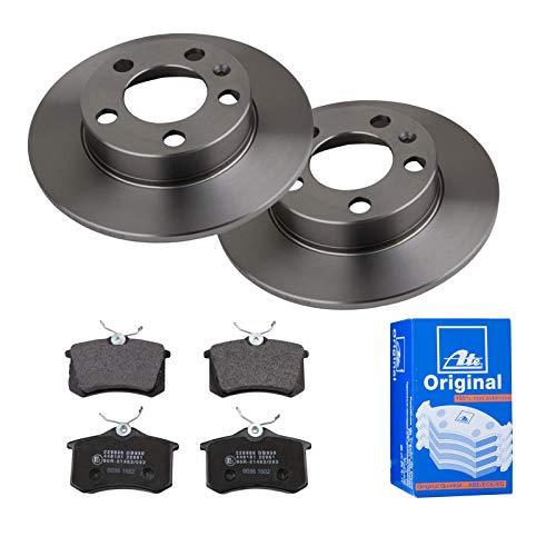 2 Bremsscheiben Voll 230 mm + Bremsbeläge ATE 1420-21646 Bremsensatz Bremsanlage