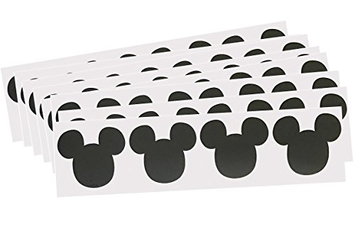 Outside the Box Papers Mickey Mouse Vinyl Chalkboard Labels - 60 Pack