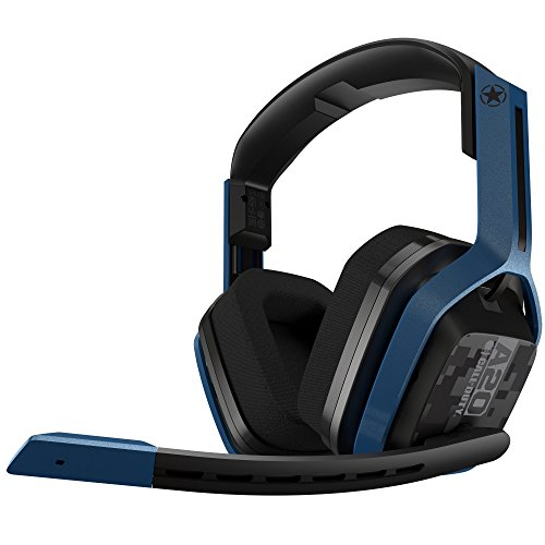 ASTRO Gaming A20 Casque sans fil édition Call of Duty compatible PlayStation 4, PC, Mac - Bleu marine/noir