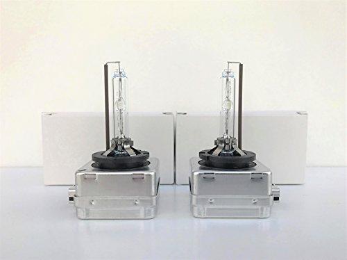 2x nuevo. OEM. BMW Xenon Bombillas OSRAM 66144D1S HID faros delanteros de luz lámpara PN 63217217509