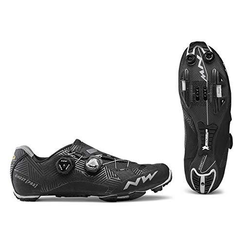 NORTHWADE Unisex-Adult Sapatos Btt NW Ghost PRO Fahrradschuhe, Black