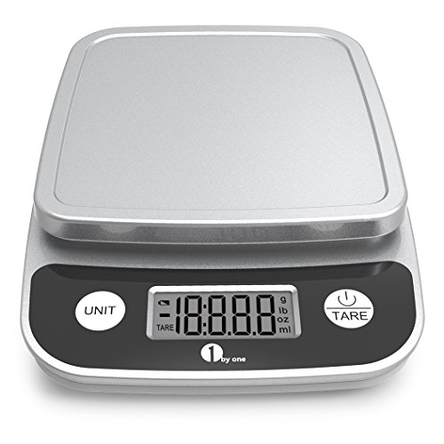 1byone Digital Kitchen Scale Precise Cooking Scale and Baking Scale, Multifunction with Range From...