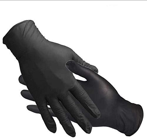 20/100 Stück Latexhandschuhe Einweghandschuhe Einweghandschuhe Latex-Einweg-Kochhandschuhe, puderfreie, glatte Industriehandschuhe in Lebensmittelqualität, in der Küche verwendet, Reinigung (20 STÜCK)