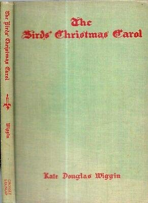 1929 DELUXE ILLUSTRATED BIRD'S CHRISTMAS CAROL KATE DOUGLAS WIGGIN COLOR PRINTS