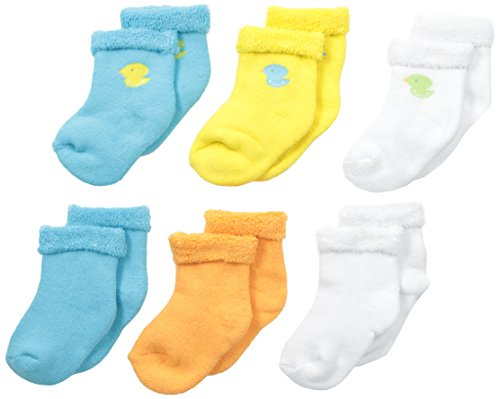 Product Image of the GERBER Unisex Baby 6 Pack Socks