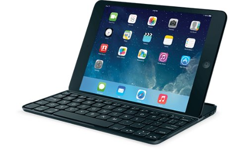 Logitech Ultrathin Keyboard Cover v2 for iPad Mini & Mini Retina (QWERTY, UK-Layout)