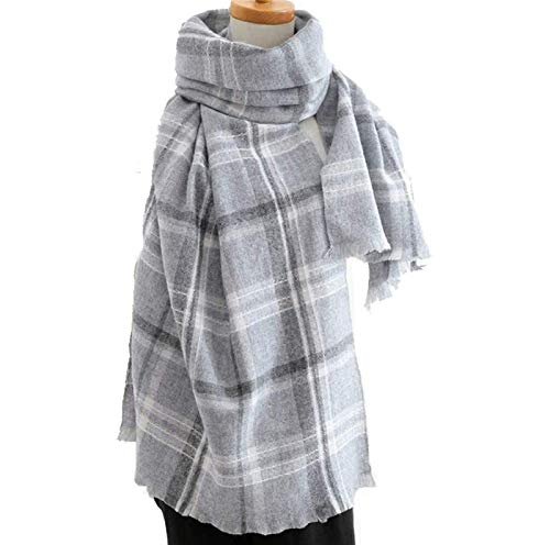 Scarves Wraps Pashminas Scarf Lady, Warm Winter Padded Shawl is Soft, Comfortable and Warm, Perfect and Gift (Color : A)