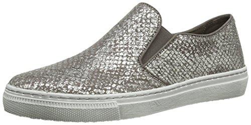 Gabor Shoes 24.340.83 Damen Mokassin, Grau (Fango), Gr. 42