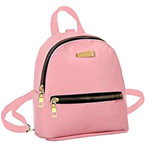 Donalworld Girl Floral School Bag Travel Cute PU Leather Mini Backpack Pattern1
