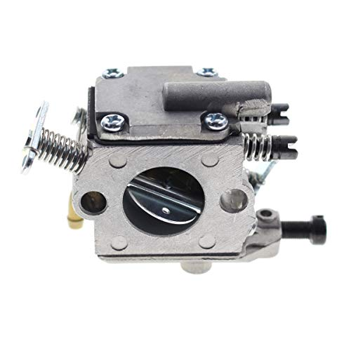 Carbhub MS200 Carburetor for Stihl MS200 MS200T 020T 020 Chainsaw Carb with Air Filter Fuel Line Hose, C1Q-S126B Carburetor Replace 1129 120 0653, MS200T Carburetor