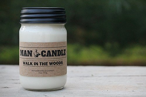 Best Man Candle - Best Soy Beeswax Candle - Premium...