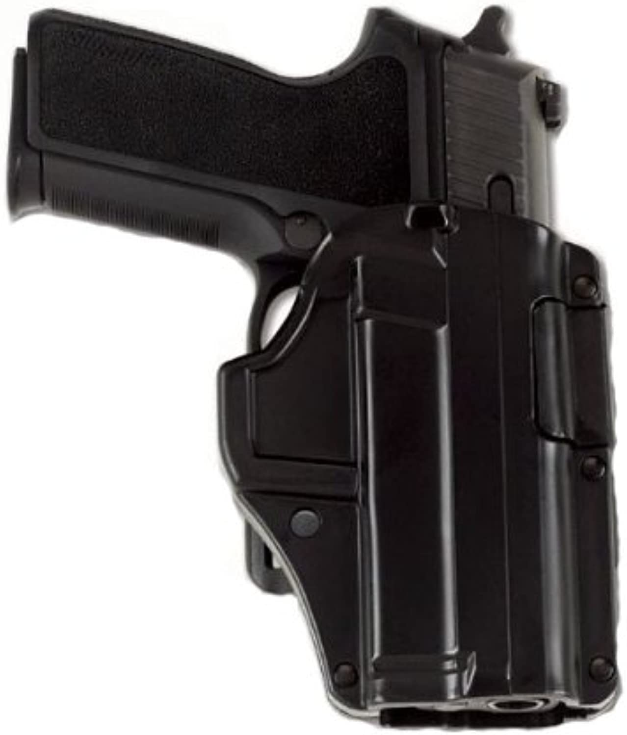 Galco International M6X Auto Locking Belt Holster (Black) S and W M and P Compact 9 40, Right Hand