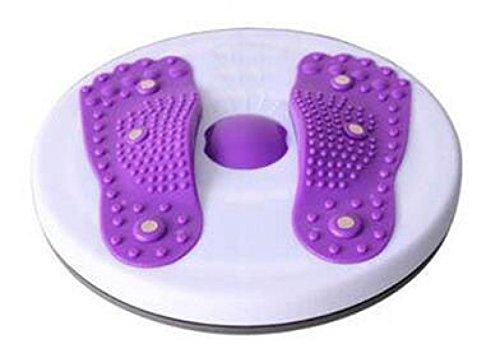 La Sra Artículos Deportivos Aparatos De Ejercicios Masaje Magnético De La Cintura Delgada Placa Twister Casa Es Un Ejercicio Para Bajar De Peso,Purple