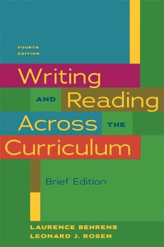 Writing & Reading Across the Curriculum, Brief Edition...