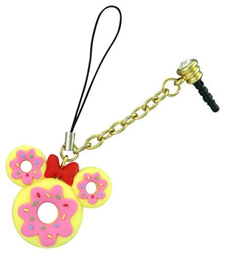Disney 24984 Minnie Donut D-Lish Treats - Ciondolo per cellulare, multicolore, 1 cm