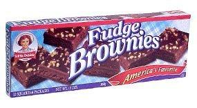 Little Debbie Snacks Fudge Brownies, 12-Count Box (Pack of 6)