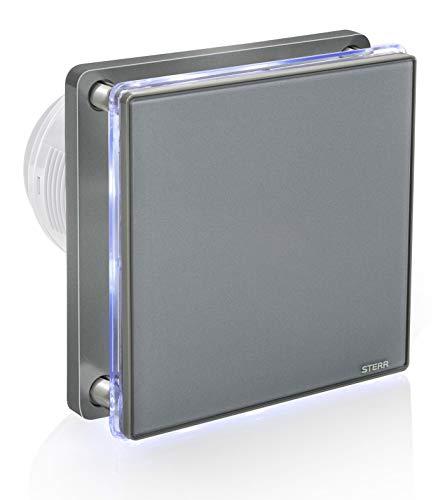 STERR - Gris extractor de baño con retroiluminación LED - BFS100L-G
