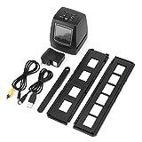 【𝐎𝐟𝐞𝐫𝐭𝐚𝐬 𝐝𝐞 𝐁𝐥𝐚𝐜𝐤 𝐅𝐫𝐢𝐝𝐚𝒚】 Escáner de película, Compacto, liviano, portátil, Pantalla LCD TFT de 2.36 '' de 5MP/10MP USB 135/35mm para Soporte de escáner Negativo de Tarjeta SD