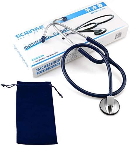 FEE-ZC Allzweck-Stethoskop Classic Iii, Zubehör für klinische Analysegeräte, manuelles Arm-Blutdruckmessgerät für die Gesundheit von Ärzten, Krankenschwestern, Tierärzten, Studenten, blau