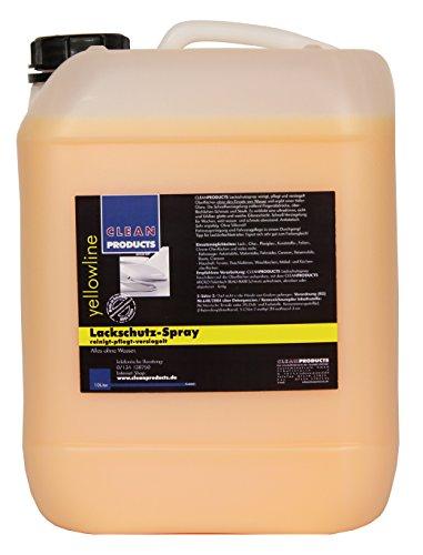 CLEANPRODUCTS Lackschutz-Spray 10 Liter - Auto Detailer - Waschen ohne Wasser mit Schnell-Versiegelung
