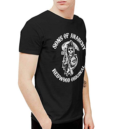 Mens Particular Sons of Anarchy Season T Shirts Washed Denim Hat Casquette Black Blacks
